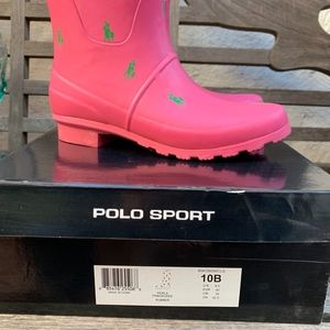 Polo by Ralph Lauren Shoes - New Polo Sport Ralph Lauren Rubber Boots